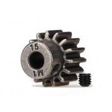 Traxxas 15 Tooth 1.0 Pitch Pinion Gear 6487X