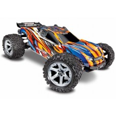 Traxxas Rustler 4X4 VXL Orange 1/10 Brushless Truck