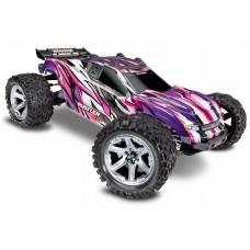Traxxas Rustler 4X4 VXL Pink 1/10 Brushless Truck