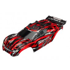 Traxxas Rustler 4x4 Red Painted Body 6718