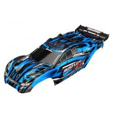 Traxxas Rustler 4x4 Blue Painted Body 6718X
