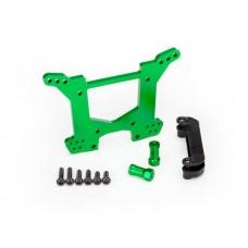 Traxxas Rustler 4x4 Green Aluminum Rear Shock Tower