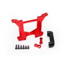 Traxxas Rustler 4x4 Red Aluminum Rear Shock Tower
