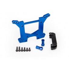 Traxxas Rustler 4x4 Blue Aluminum Rear Shock Tower