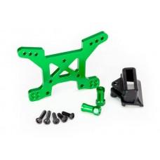 Traxxas Rustler 4x4 Green Aluminum Front Shock Tower