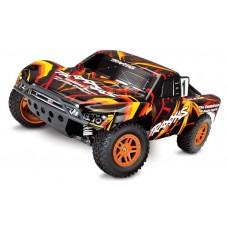 Traxxas Slash 4x4 1/10 Scale Brushed Truck Orange