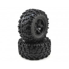 Traxxas X-Maxx 8S Mounted Wheels and Tires (2) 7772X