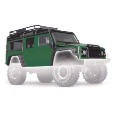 Traxxas TRX-4 Land Rover Defender Green Painted Body