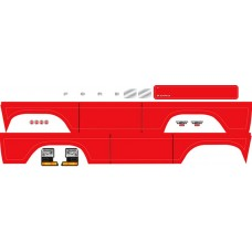 Traxxas TRX-4 Ford Bronco Decal Sheet Red