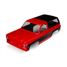 Traxxas TRX-4 Red Chevy Blazer Body