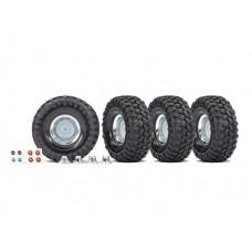 """Traxxas 1.9"""" Replica Rally Wheels Mounted (4)"""