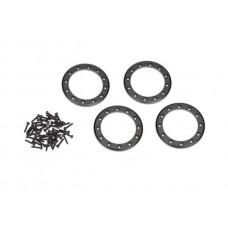 Traxxas TRX-4 Black Aluminum Beadlock Rings