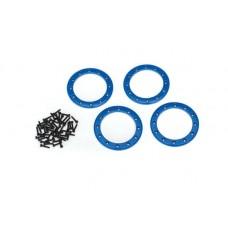 Traxxas TRX-4 Blue Aluminum Beadlock Rings