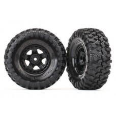 Traxxas Mounted Canyon Trail 1.9 Tires and Wheels