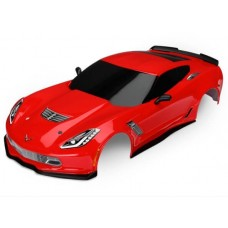 Traxxas Red Chevrolet Corvette Z06 4-Tec 2.0 Body