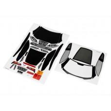 Traxxas Chevrolet Corvette Z06 4-Tec 2.0 Body Decal Set
