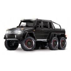 Traxxas TRX-6 Mercedes Benz G 63 AMG 6x6 1/10 RTR Truck Black