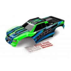 Traxxas Maxx Green Painted Body w/Decals 8911G