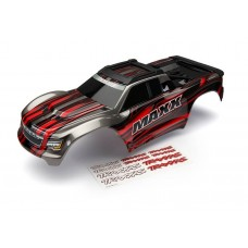 Traxxas Maxx Red Painted Body w/Decals 8911R