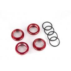 Traxxas Maxx Red Aluminum Spring Retainer