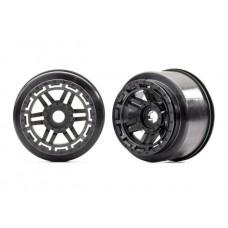 Traxxas Maxx Black Wheels (2)