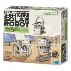 4M Green Science Eco-Engineering 3 in 1 Mini Solar Robot Kit