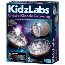 4M KidzLabs Crystal Geode Growing Kit