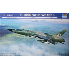 Trumpeter 1/72 F105G Thunderchief Aircraft Plastic Model Kit