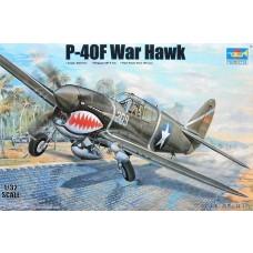 Trumpeter 1:32 P40F Warhawk Aircraft Plastic Model Kit