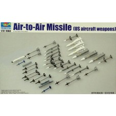Trumpeter 1/32 US Aircraft Air-to-Air Missiles Weapon Set Plastic Model Kit