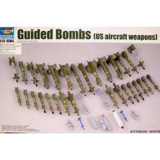 Trumpeter 1/32 US Aircraft Weapons Set: Air-to-Surface Missiles Plastic Model Kit