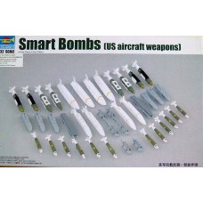 Trumpeter 1/32 US Aircraft Weapons Set: Smart Bombs Plastic Model Kit