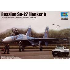 Trumpeter 1:144 Russian SU-27 Flanker B Plastic Model Kit