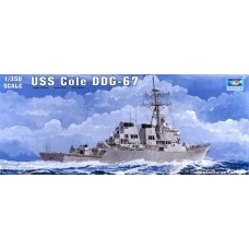Trumpeter 1/350 USS Cole DDG67 Plastic Model Kit