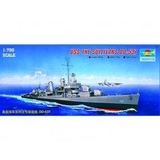 Trumpeter Scale Models 1/700 USS The Sullivans DD-537 Plastice Model Kit