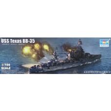 Trumpeter 1/700 USS Texas BB-53 Plastic Model Kit