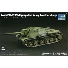 Trumpeter 1/72 Su152 Self-Propelled Heavy Howitzer Early Version Plastic Model Kit