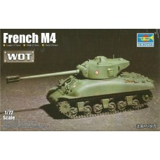 Trumpeter 1/72 French M4 Plastic Model Kit