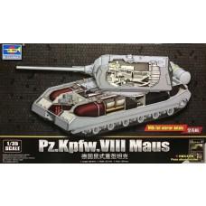 Trumpeter 1/35 PzKpfw VIII Maus Tank Plastic Model Kit