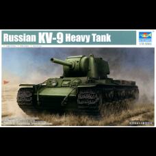 Trumpeter 1/35 Russian KV9 Heavy Tank Plastic Model Kit
