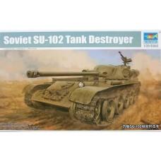 Trumpeter 1/35 Soviet SU102 Tank Destroyer Plastic Model Kit