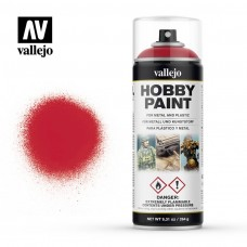 Vallejo Bloody Red Spray Paint 400ml