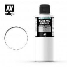 Vallejo Surface Primer White 200ml Bottle