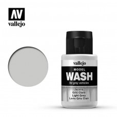 Vallejo 35ml Light Gray Model Wash