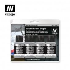 Vallejo Aluminum Dope Paint Set