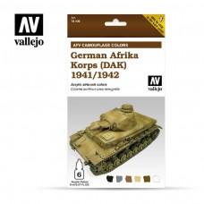 Vallejo AFV Afrika Corp 1942-1944 Paint Set