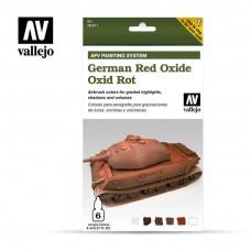 Vallejo AFV German Red Oxide Paint Set