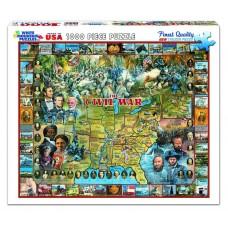 White Mountain Puzzles Civil War 1000 Piece Puzzle 107PZ