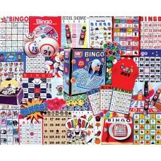 White Mountain Puzzles Bingo Games 1000 Piece Puzzle 1087PZ
