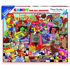 White Mountain Puzzles Candy For All Seasons 1000 Piece Puzzle 1136PZ